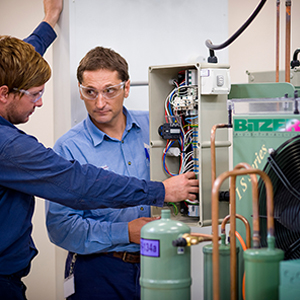 electrical apprentices at TAFE Queensland